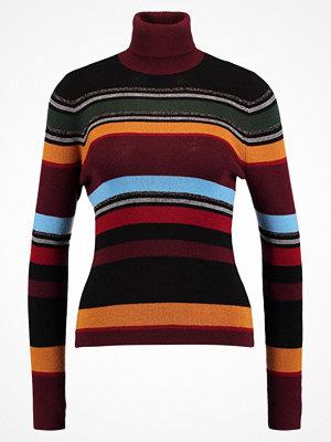 Levi's® ORANGE TAB FINE GAUGE TURTLENECK Stickad tröja merlot/sycamore/black