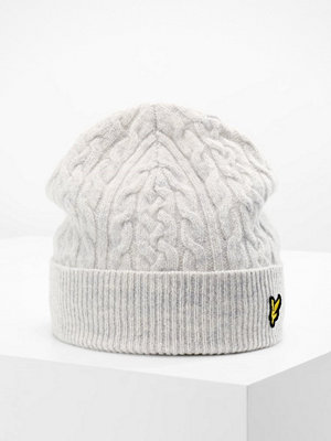 Mössor - Lyle & Scott BEANIE Mössa off white