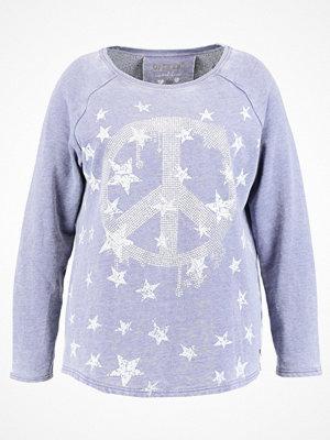 Open End STARS PEACE Sweatshirt denim