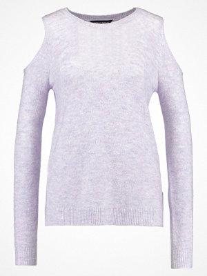 Dorothy Perkins COLD SHOULDER Stickad tröja lilac