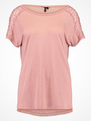 T-shirts - Vero Moda VMMISA  Tshirt med tryck rose