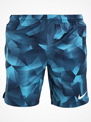 Nike Performance DRY SQD Träningsshorts light blue fury/armory navy/white