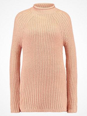 Only ONLANE HIGHNECK Stickad tröja  rose