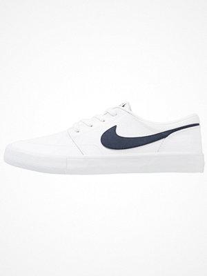 Nike Sb PORTMORE II SOLAR PRM Sneakers white/obsidian