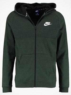 Street & luvtröjor - Nike Sportswear ADVANCE 15 FULL ZIP KNIT Sweatshirt outdoor green/black/white
