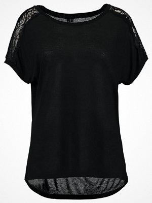 T-shirts - Vero Moda VMMISA  Tshirt med tryck black