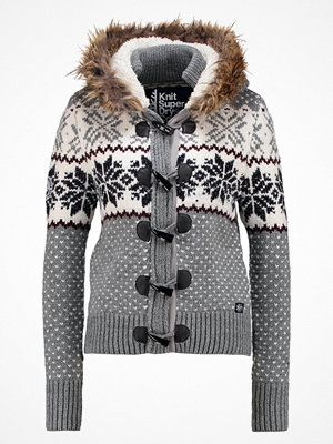 Superdry CHALET SNOW TOGGLE Kofta grey marl