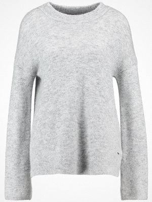 Calvin Klein Jeans SILKE  Stickad tröja light grey heather