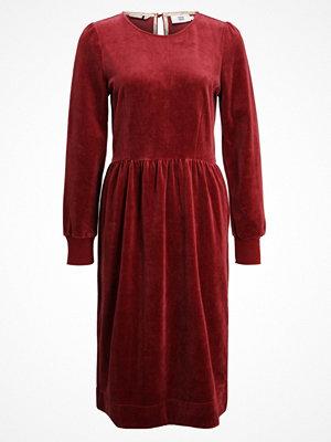 Noa Noa Jerseyklänning oxblood red