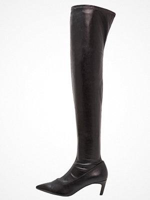 Topshop CRAWLER LEG Overkneeskor black