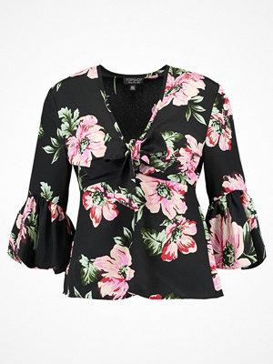 Topshop FELICITY ROSE TIE   Blus black