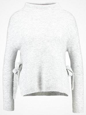 Anna Field Stickad tröja light grey