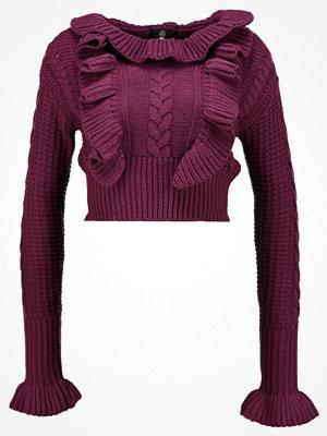 Missguided Petite Stickad tröja purple