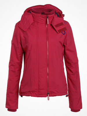 Superdry POP ZIP HOOD ARCTIC Allvädersjacka ruby/nautical navy