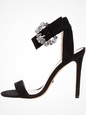 Sandaler & sandaletter - Topshop REGAL BUCKLE 2PART  Sandaletter black