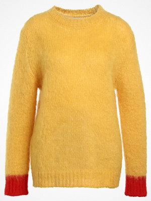 Mads Nørgaard KRANNY Stickad tröja yellow red