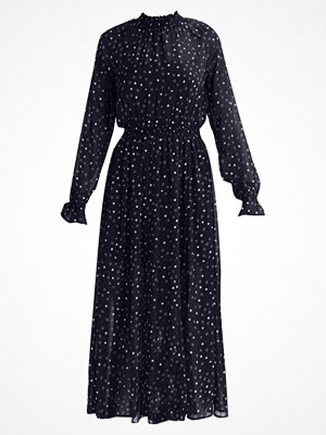Glamorous Tall LONG SLEEVE Maxiklänning navy white star