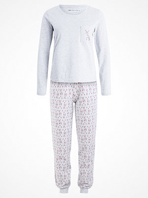Pyjamas & myskläder - Even&Odd SET Pyjamas grey/red