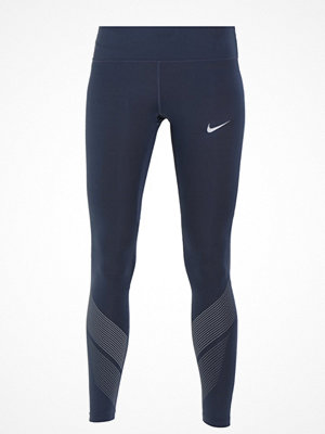 Nike Performance POWER FLASH RACER Tights thunder blue/silver