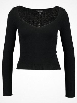 Topshop SWEETHEART Stickad tröja black