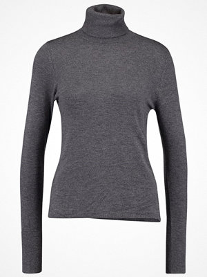 Only ONLDINA ROLLNECK  Stickad tröja dark grey melange