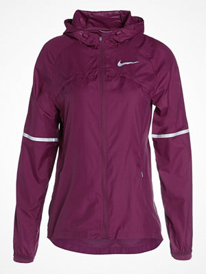 Sportjackor - Nike Performance SHIELD Löparjacka tea berry/reflective silver
