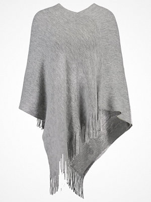 Anna Field Poncho mottled grey