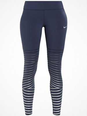 Nike Performance POWER FLASH EPIC LUX Tights thunder blue/black/silver