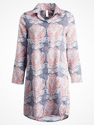 Skiny MOONLIGHT SPARKLE SLEEPSHIRT Nattlinne slateblue batik