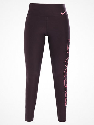 Nike Performance POWER Tights port wine/pink