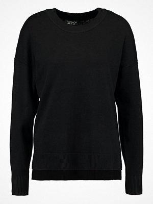 Topshop ZIP SIDE Stickad tröja black