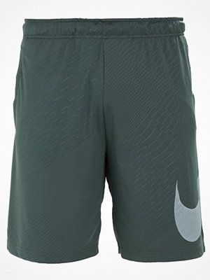 Nike Performance DRY EMBOSSED  Träningsshorts vintage green/white