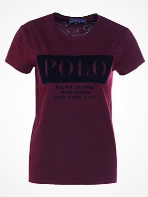 Polo Ralph Lauren Tshirt med tryck autumn wine