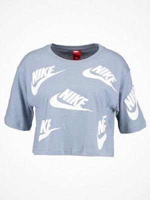 Nike Sportswear FUTURA TOSS Tshirt med tryck glacier grey/white