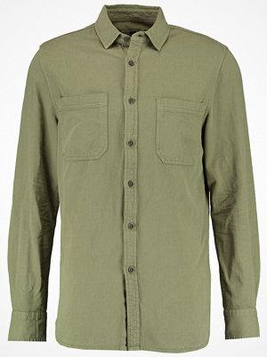 Skjortor - Topman WASHED Skjorta khaki/olive