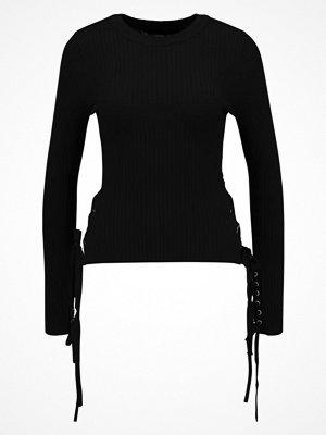 Even&Odd EYELET Stickad tröja black
