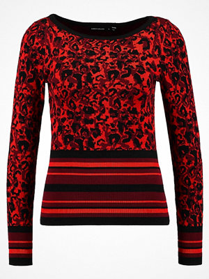 Karen Millen Stickad tröja red