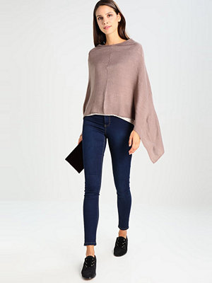 Anna Field Poncho taupe