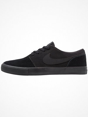 Nike Sb SOLARSOFT PORTMORE II Sneakers black/anthracite