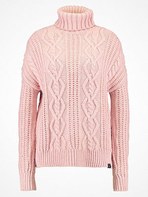 Superdry ESMAY CABLE  Stickad tröja blush marl