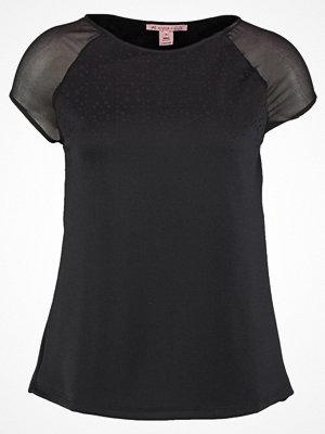 Anna Field Tshirt med tryck black/rose