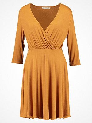 Glamorous Jerseyklänning mustard