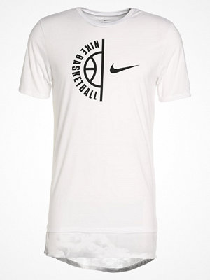 Nike Performance CLOUDS Tshirt med tryck white
