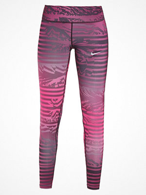 Nike Performance Tights monarch purple/lethal pink/reflective silver