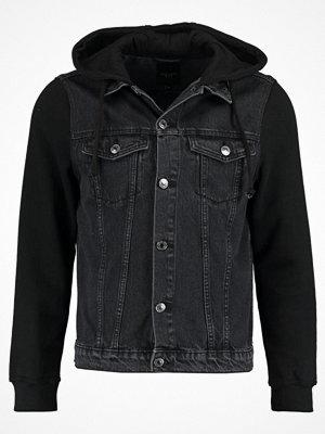 New Look Jeansjacka black