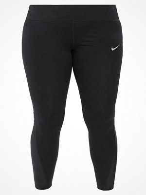 Nike Performance RACER  Tights black/black/reflective silver