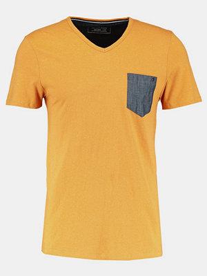 Tom Tailor Denim Tshirt bas golden amber
