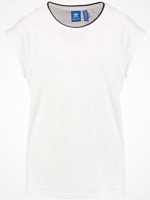 Adidas Originals BOYFRIEND ROLL UP Tshirt med tryck core white