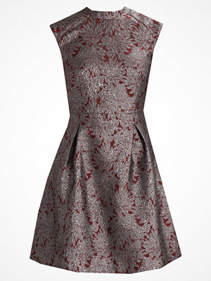 KIOMI BROCADE DRESS Cocktailklänning red & silver