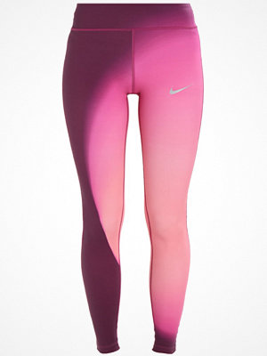 Nike Performance EPIC Tights bordeaux/silver